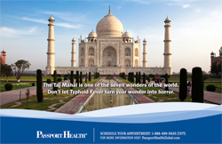 The Taj Mahal is one of the seven wonders of the world.