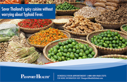 Savor Thailand's spicy cuisine without worrying about Typhoid Fever.