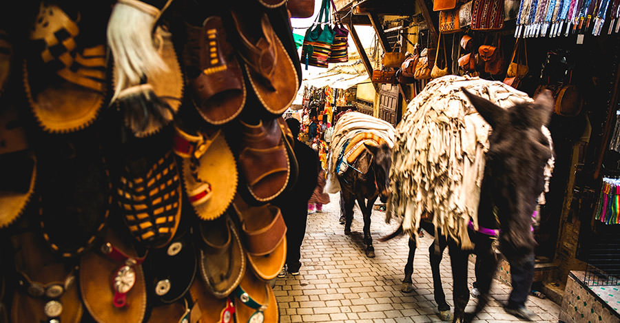 Morocco's medinas are an amazing sight for every kind of traveler.