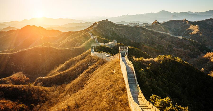 La Gran Muralla es un sitio importante.