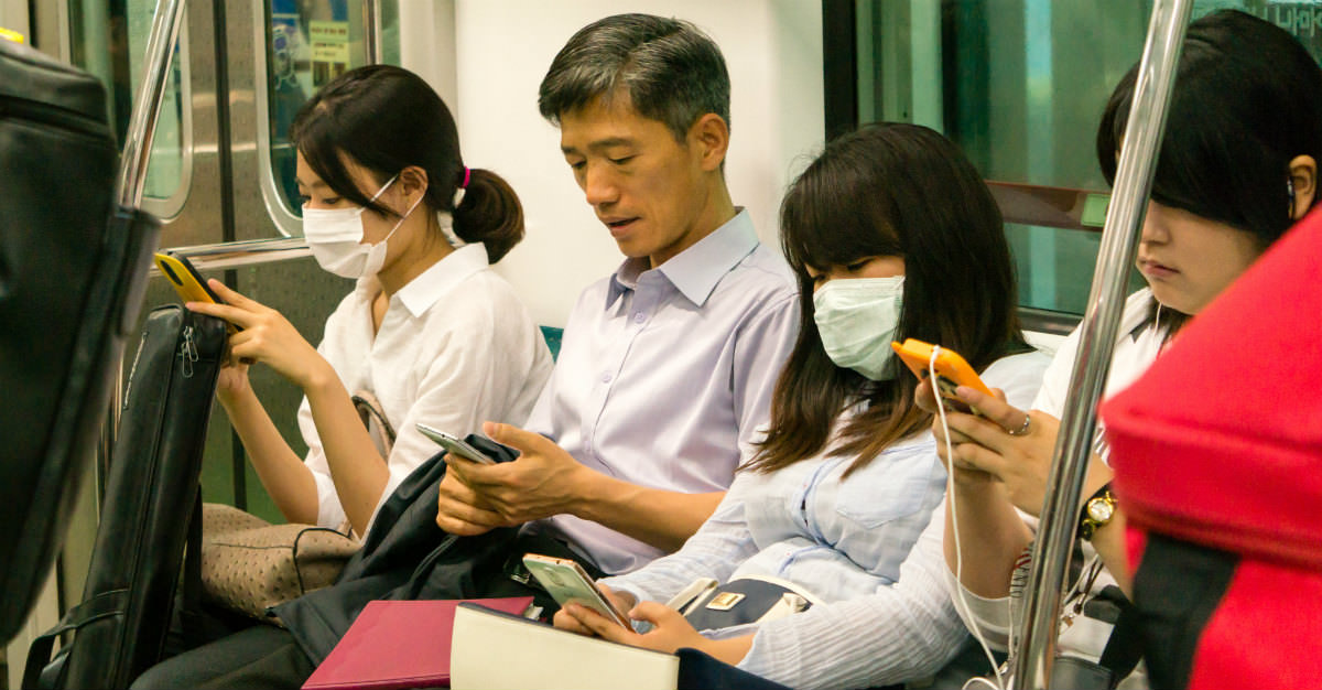 South Korea's MERS epidemic in 2015 shows the pattern in disease outbreaks.