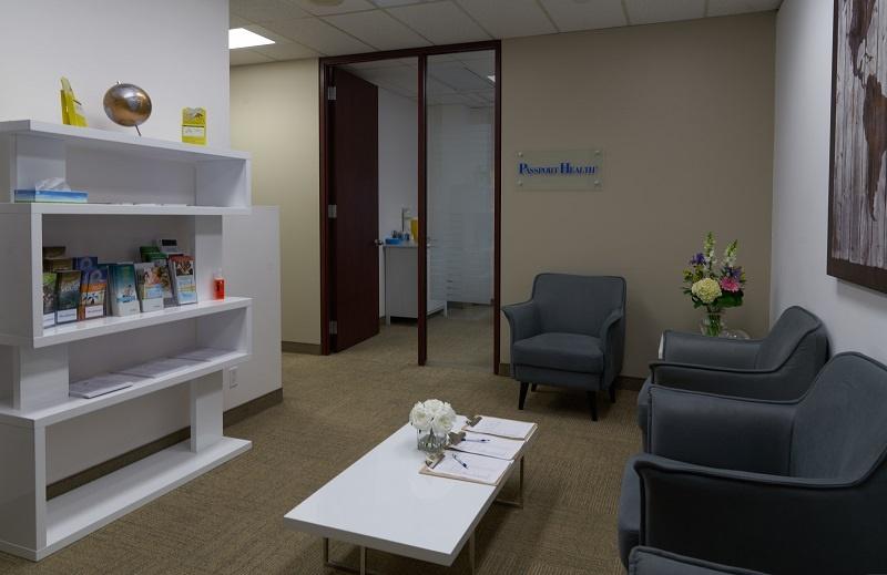 Passport Health Centre-Ville Montréal Clinique Santé-Voyage Lobby