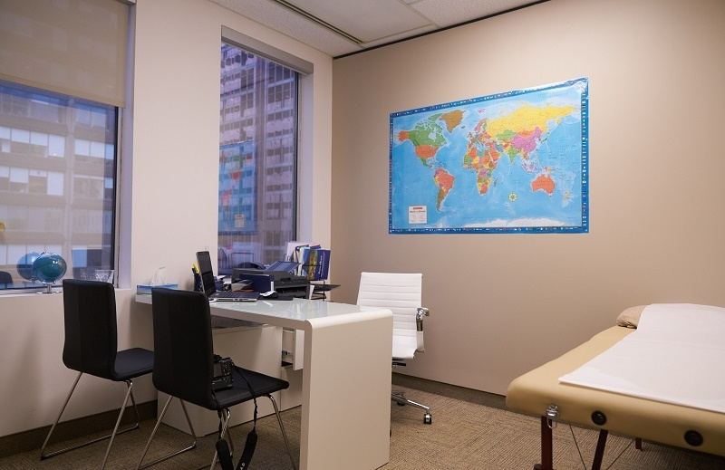 Passport Health Downtown Montreal Clinique Santé-Voyage Office