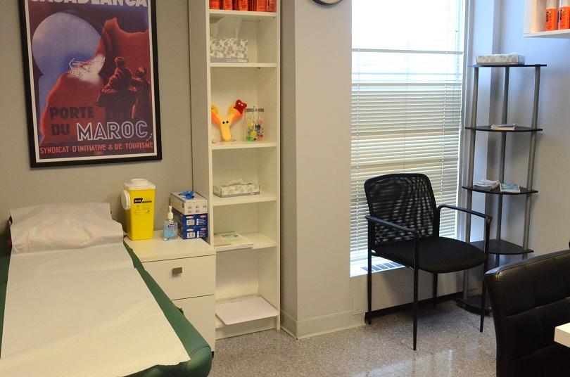 Carlington Clinique Santé-Voyage Salle de Consultation