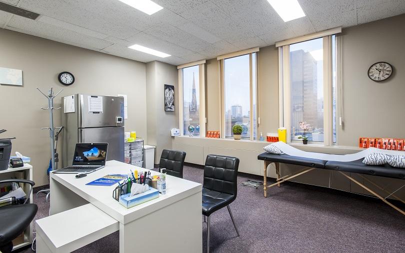 Passport Health Hamilton Travel Clinic Consultation Room