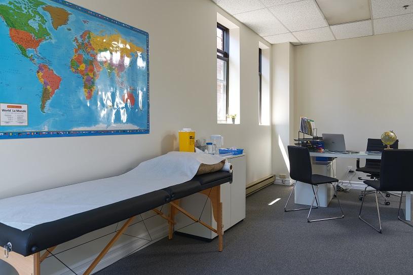 Passport Health Westmount Clinique Santé-Voyage Consultation Room