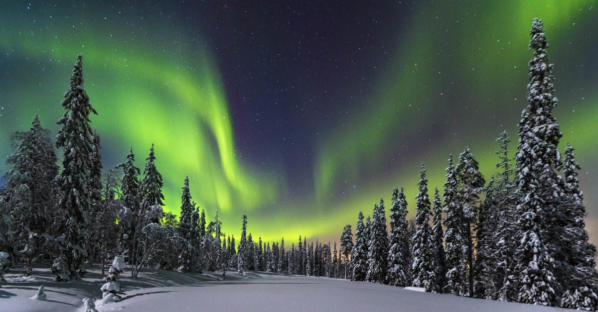 Les Northern Lights ne sont qu'une des nombreuses raisons pour explorer la Finlande.