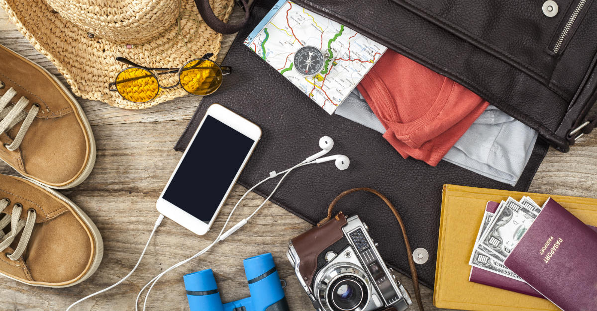 That trip abroad doesn't have to leave your personal items at risk.