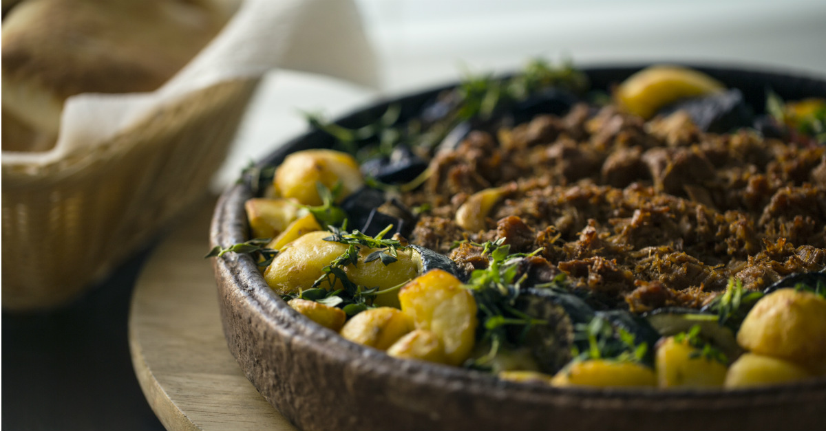 Often made with seasonal vegetables, Légume Haïtien resembles a stew that can carry many proteins.