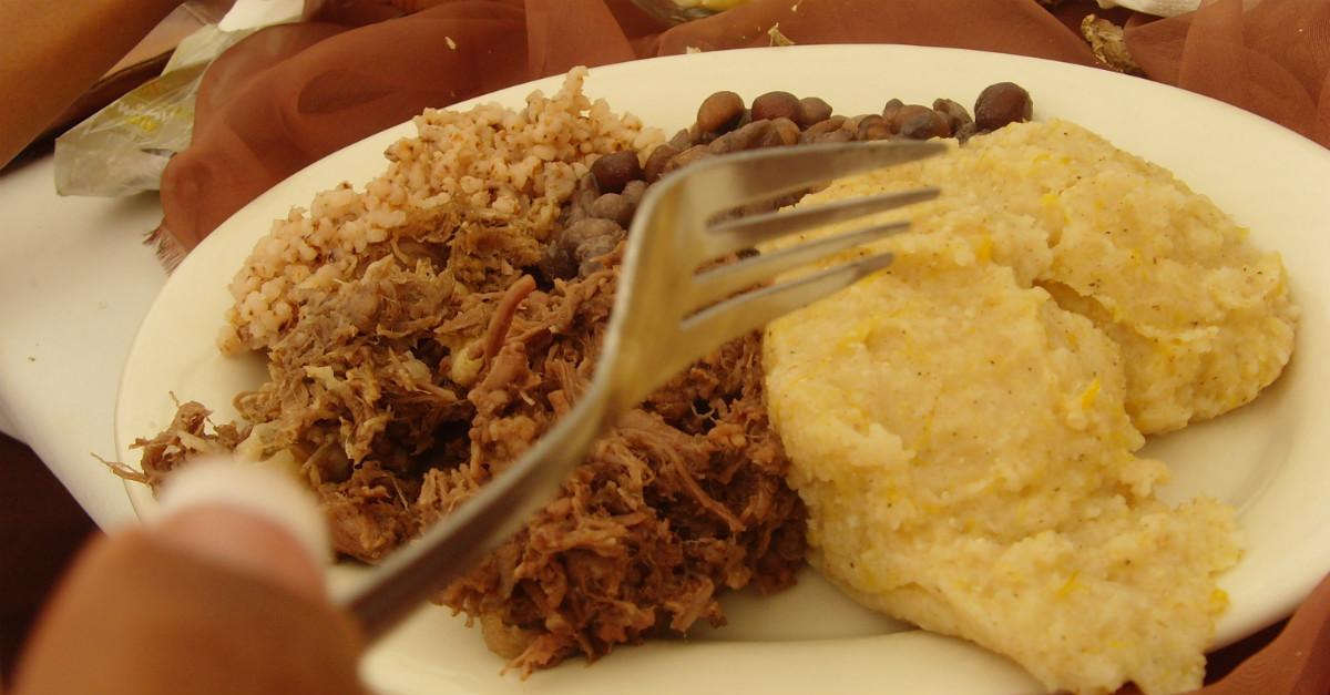 Vous trouverez ce plat seulement pour les occasions spéciales au Botswana.