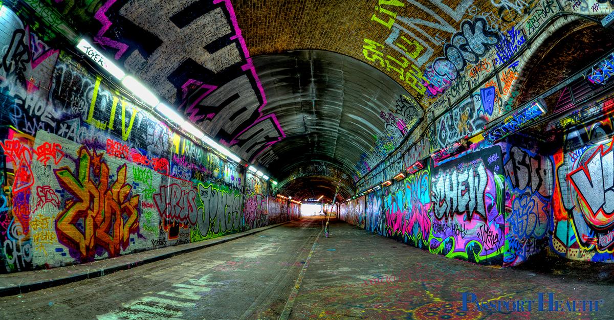 Tunel Leake Street - Londres