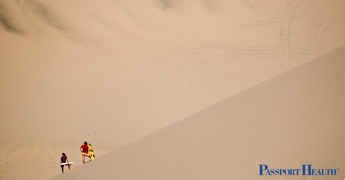 Sandboarding - Perú