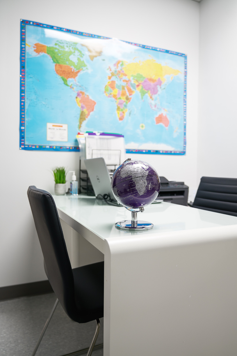 Passport Health Laval Travel Clinic Consultation Room