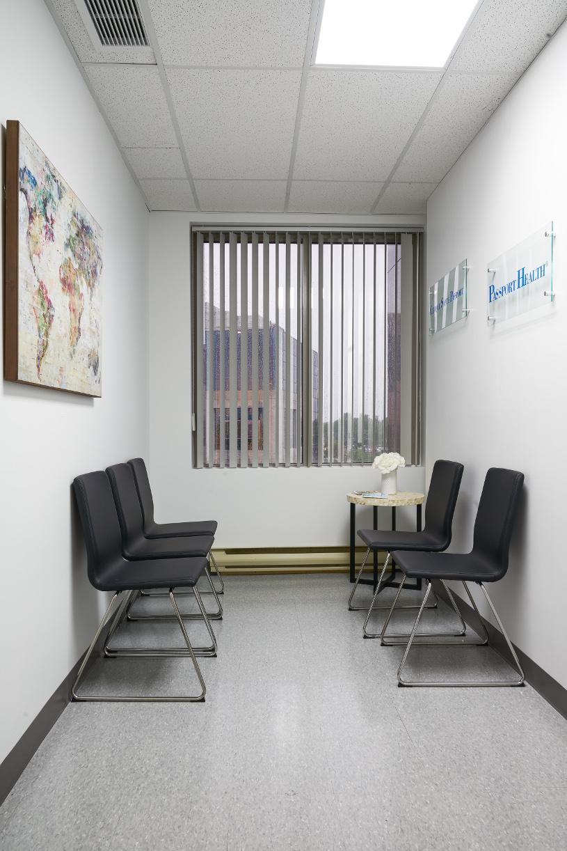 Passport Health Laval Clinique Santé-Voyage Lobby