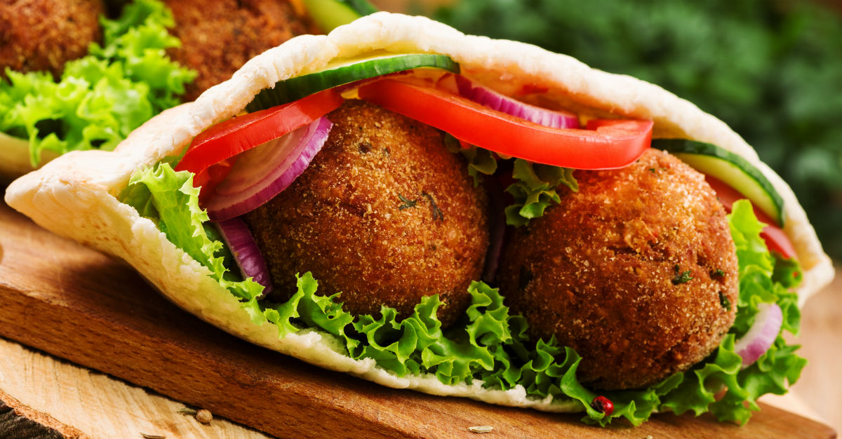 Invented in Egypt, falafel is impossible to miss while visiting Israel.