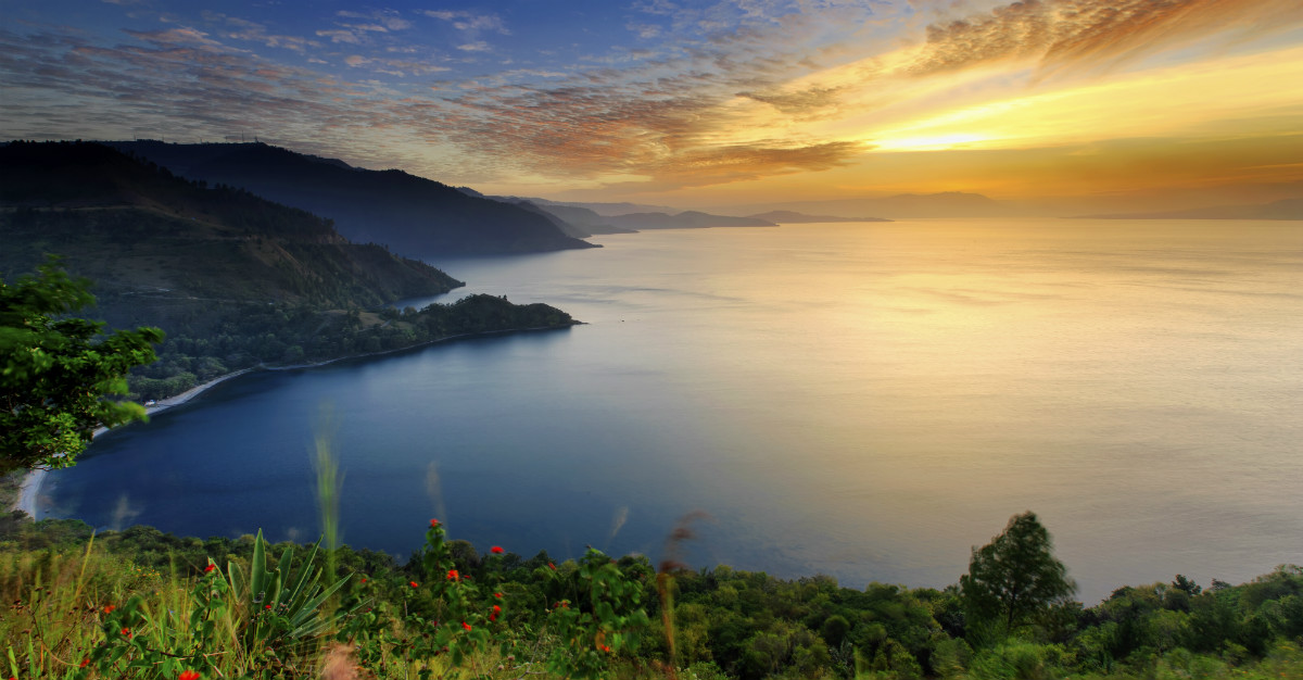 Indonesia is home to a surprising selection of volcanoes and volcanic lakes.