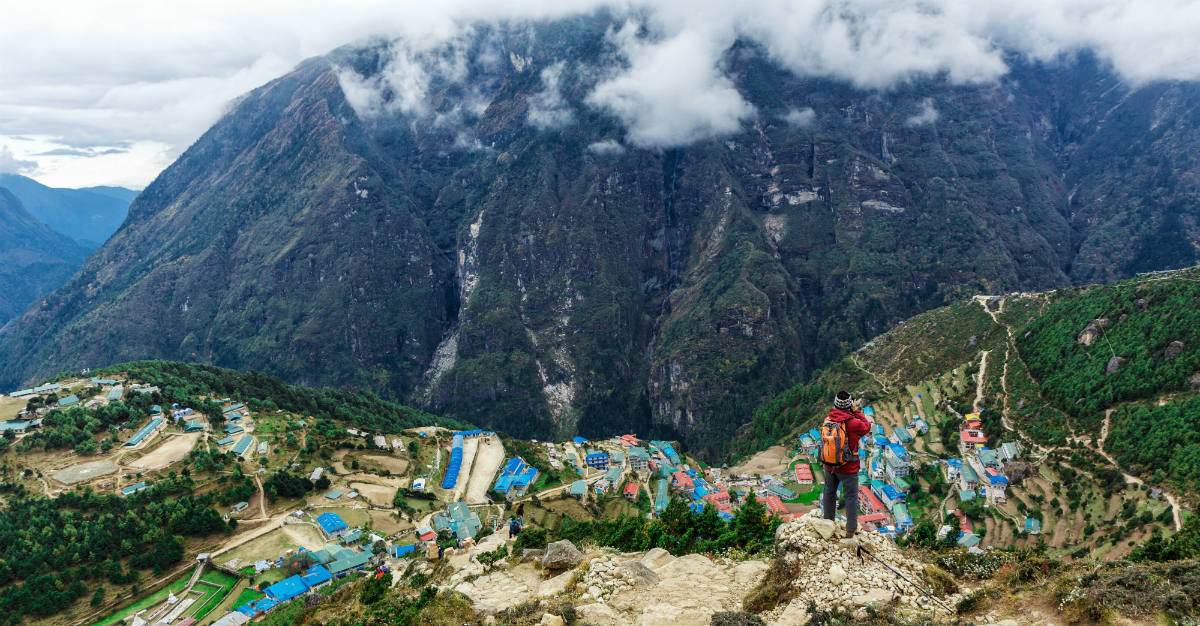 With the help of Mount Everest, Nepal is the most popular backpacking destination.