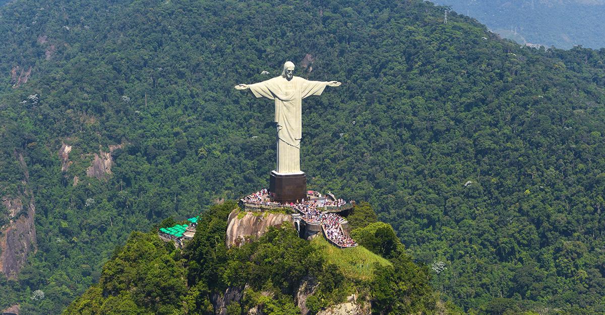 La estatua Cristo Redentor