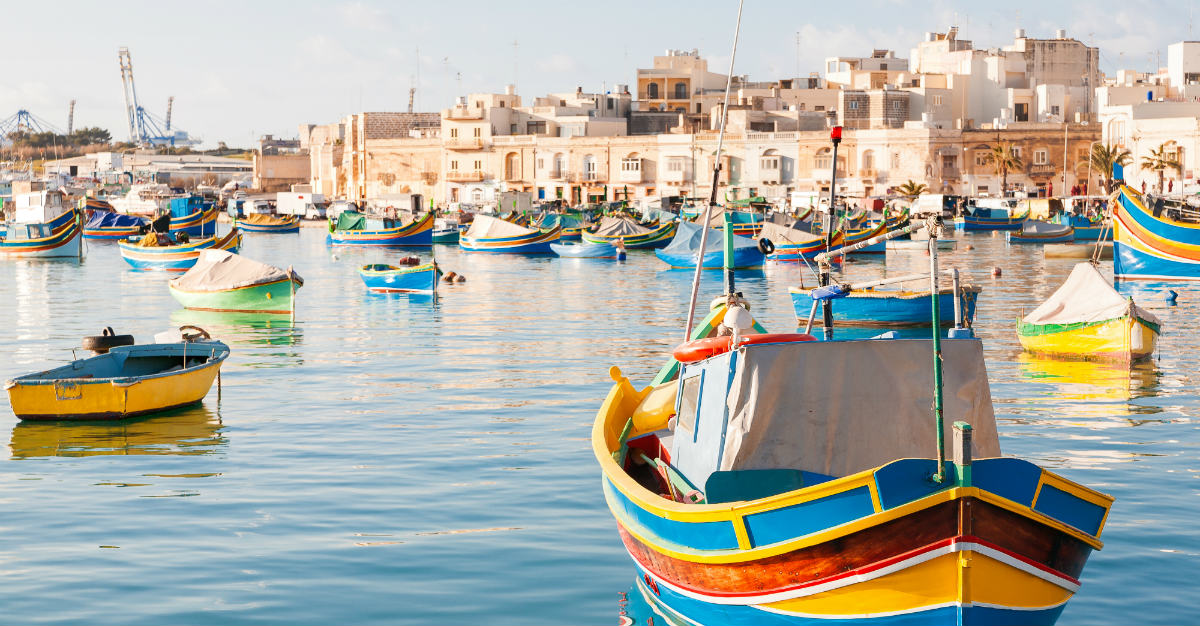 The island may be tiny, but it's busy with the Mediterranean culture.