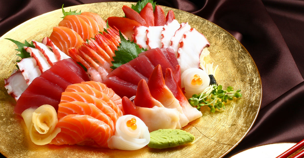 Sashimi is a much simpler dish than the similar sushi.