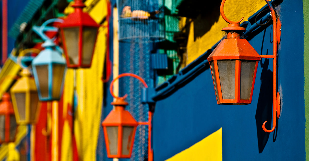 Argentina's vibrant streets are a must see for all travellers.