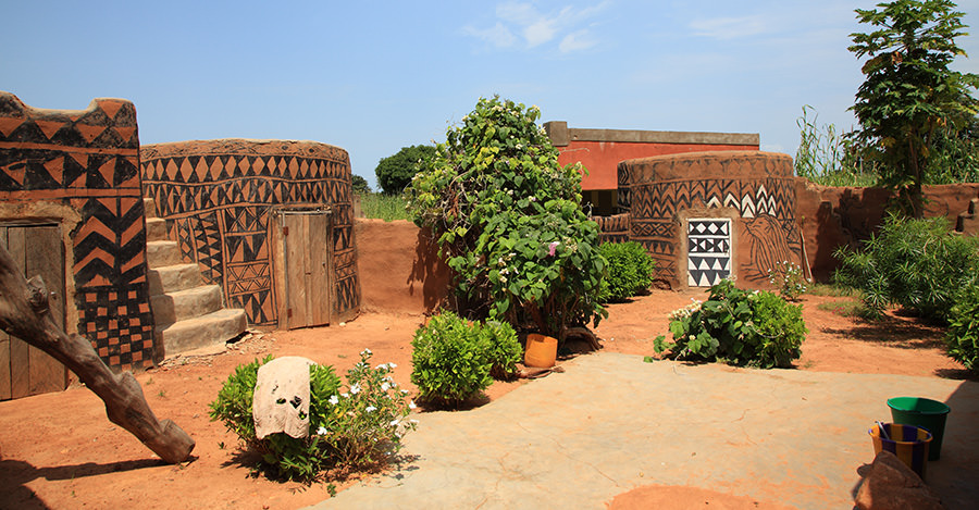 Burkina Faso's archetecture is stunning and a must see for many travellers.