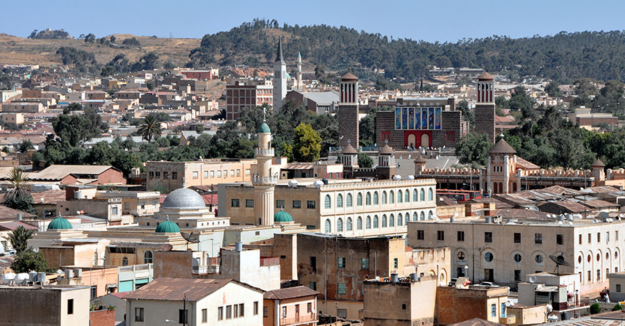 The north African country of Eritrea is a beautiful destination.