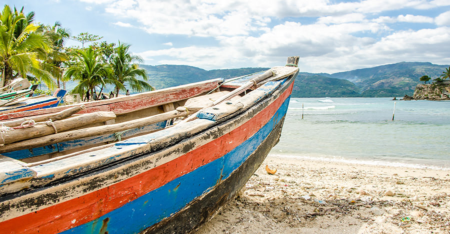 Haiti is a popular destination for aid or mission work.