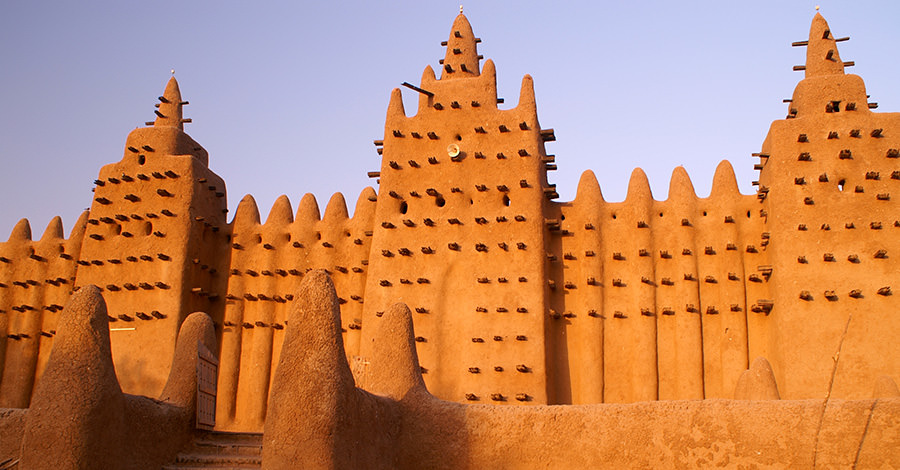 Mali's ancient ruins and constructions are a sight to behold. Make sure you explore them safely with travel vaccines and advice from Passport Health.