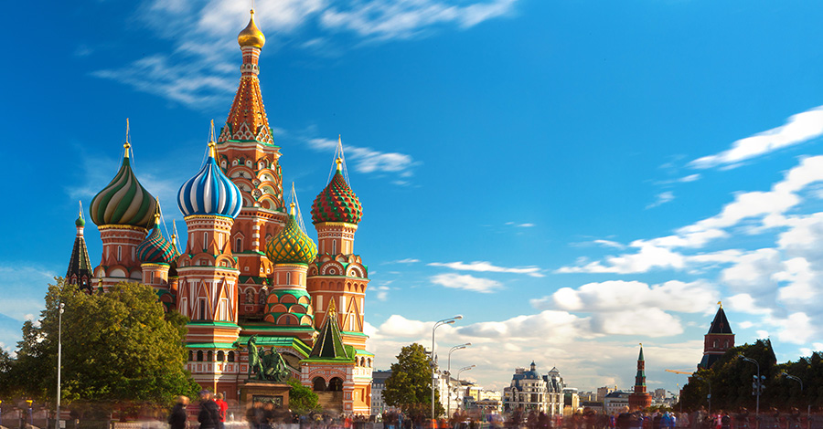 Russia travel destination advice.