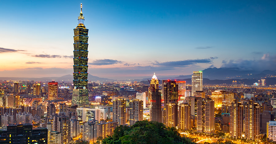 Just off the coast of China, Taiwan is a must-visit location.