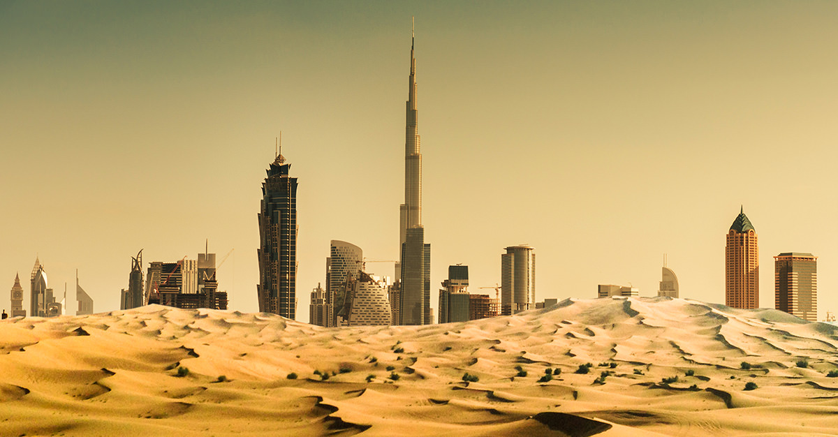 The UAE is one of the most popular Middle Eastern destinations.