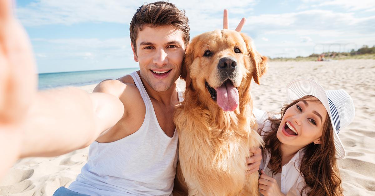 ¡Ahora sí, agarra la cámara y que empiecen las selfies con tu mascota!