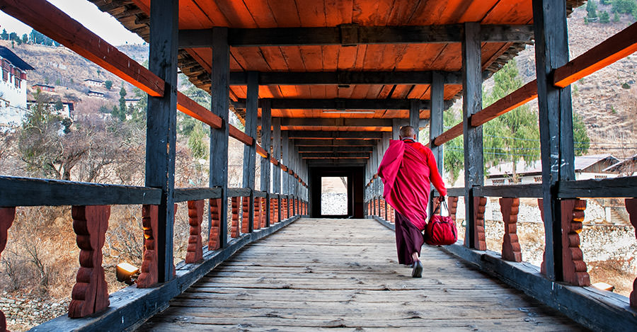 Nestled into the Himalayas, Bhutan is a fantastic destionation.