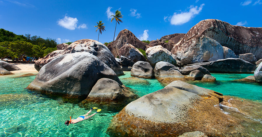 The British Virgin Islands shopping and shores are one great reason to visit the country.
