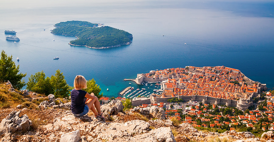 Previously war-ravenged, Croatia is a beautiful place.