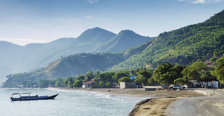 East Timor is small but has lots to explore.
