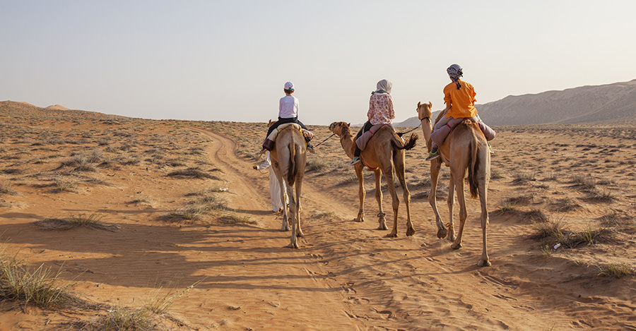 Oman is a Middle Eastern country full of adventure. Just don't forget your typhoid and hepatitis A vaccinations as both diseases are common in the area.