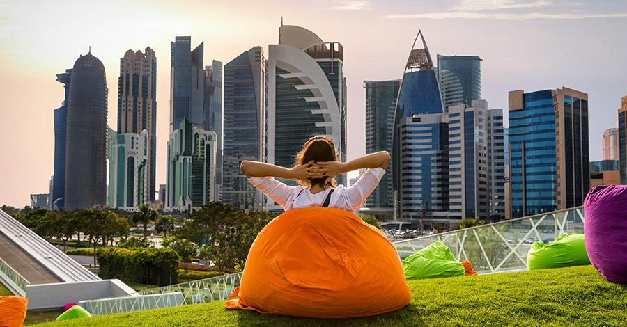 A popular Middle Eastern destination, make sure you're protected against any infections you may come across in Qatar with Passport Health's travel vaccination services.