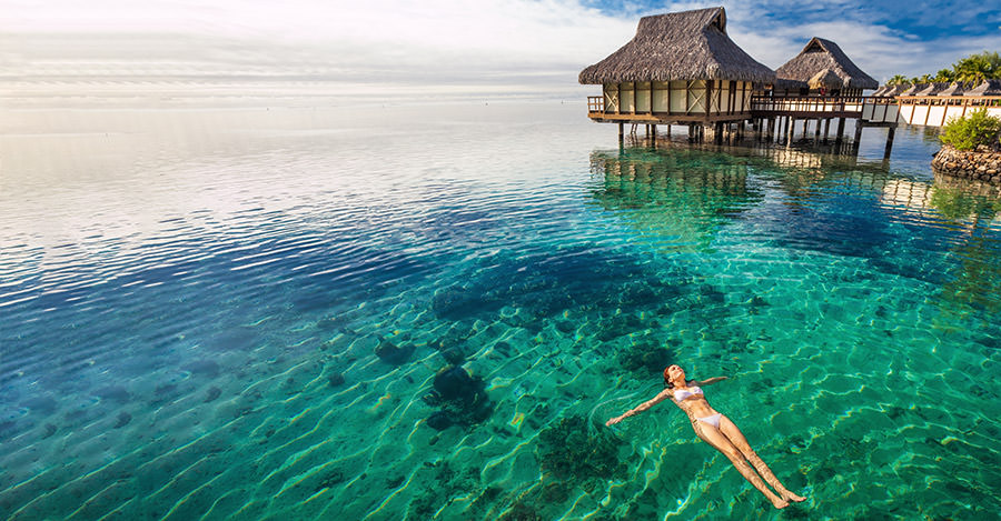 Tahiti's beaches and picturesque views are amazing.