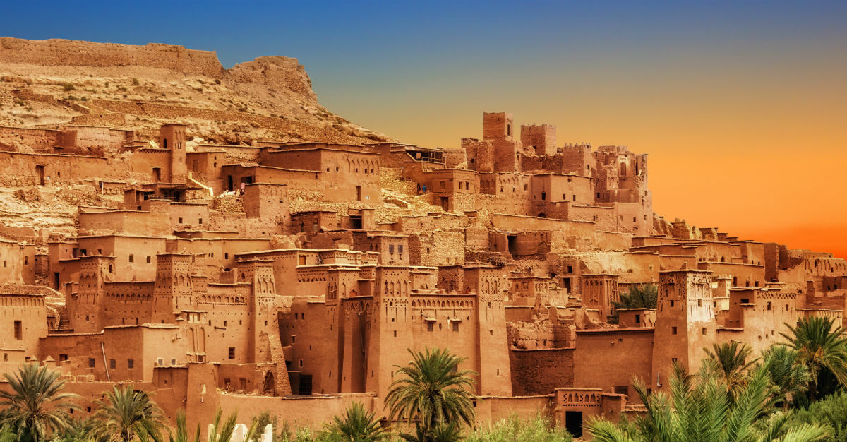 Morocco blends both general safety and stunning sites for tourists.