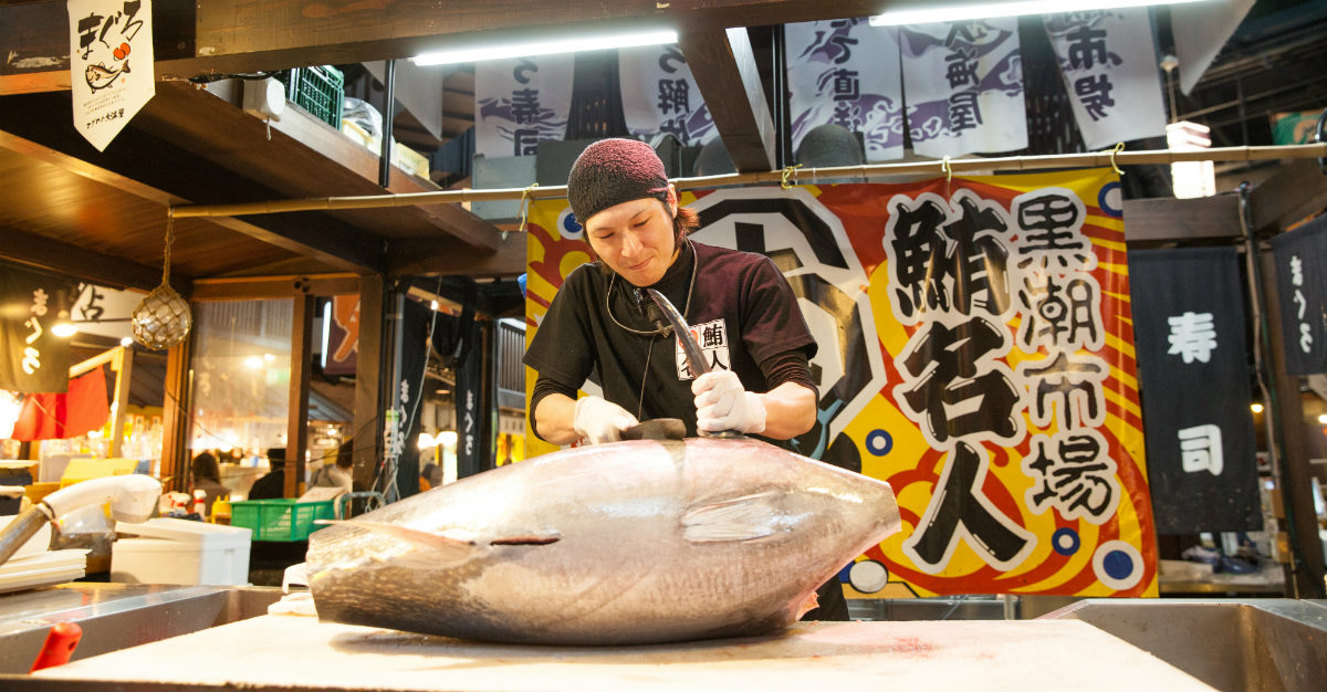 They open early, but fish markets are a must-see in Japan.