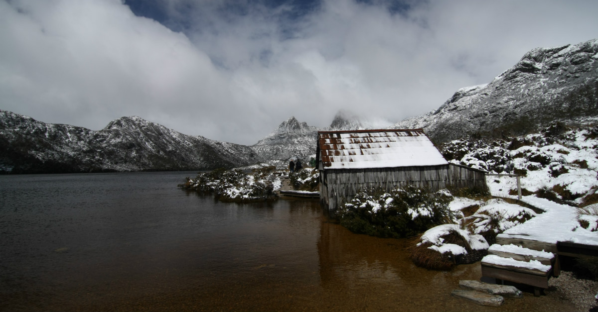 Tasmania gets a fair amount of snow during the winter months.