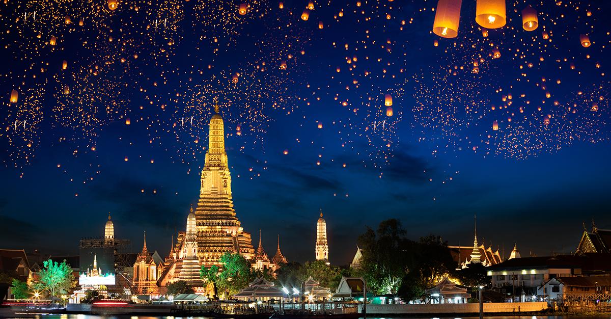 Febrero – Bangkok, Tailandia