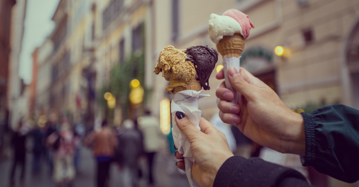 Gelato is easy to find throughout Italy, but at its best in Florence.