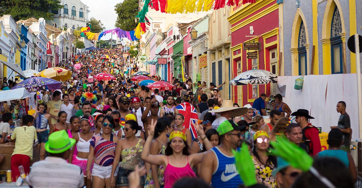 De fiesta en Río de Janeiro