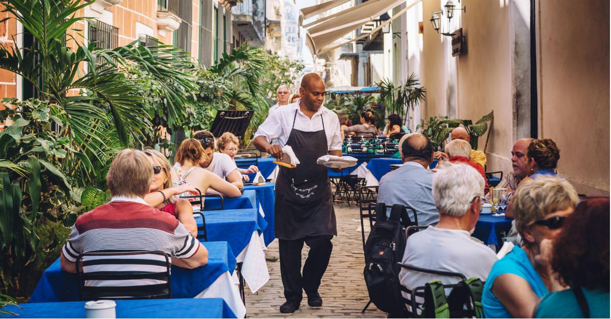 Les Caraïbes sont célèbres pour sa nourriture variée et délicieuse.