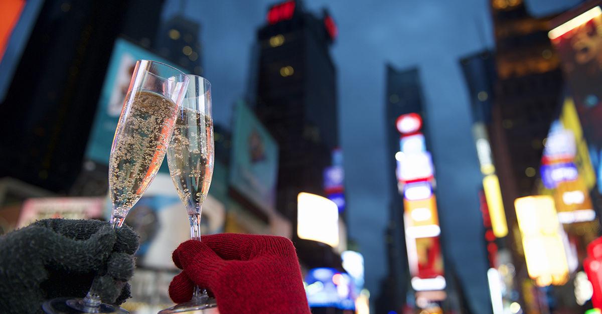 Año nuevo en Nueva York