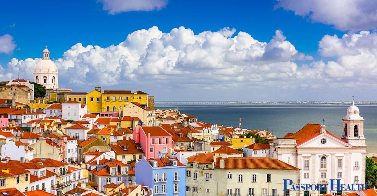 ¿Qué vacunas debo recibir antes de ir a Portugal?