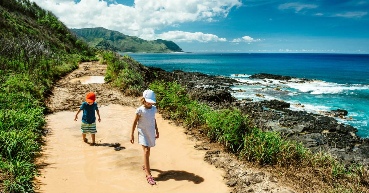 Comme Hawaii fait partie des États-Unis, il y a moins de risques de maladies que d'autres destinations tropicales.